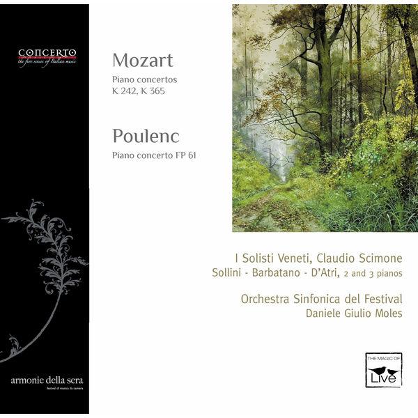 Marco Sollini - Mozart: Piano Concertos, K. 242 & K. 365 - Poulenc: Piano Concerto, FP 61