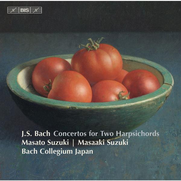 Masaaki Suzuki - Bach : Concertos for 2 Harpsichords