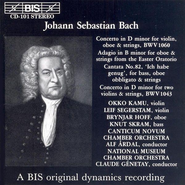 Okko Kamu - BACH, J.S.: Concerto in D minor / Adagio in B minor / Cantata No. 82