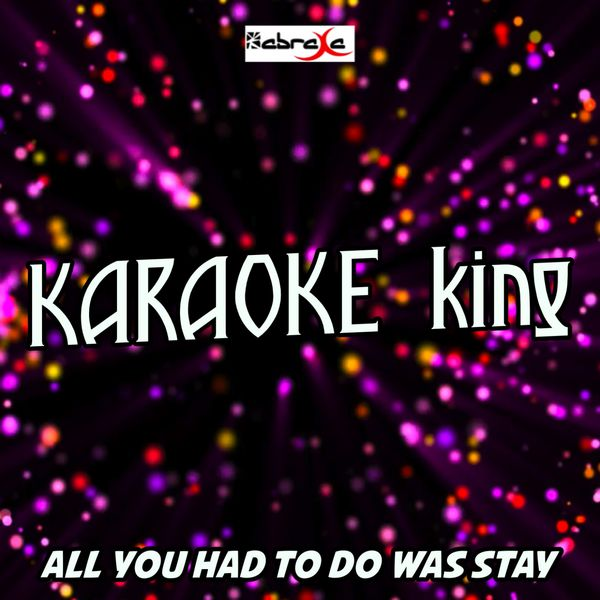 All You Had To Do Was Stay (Karaoke Version) (Originally
