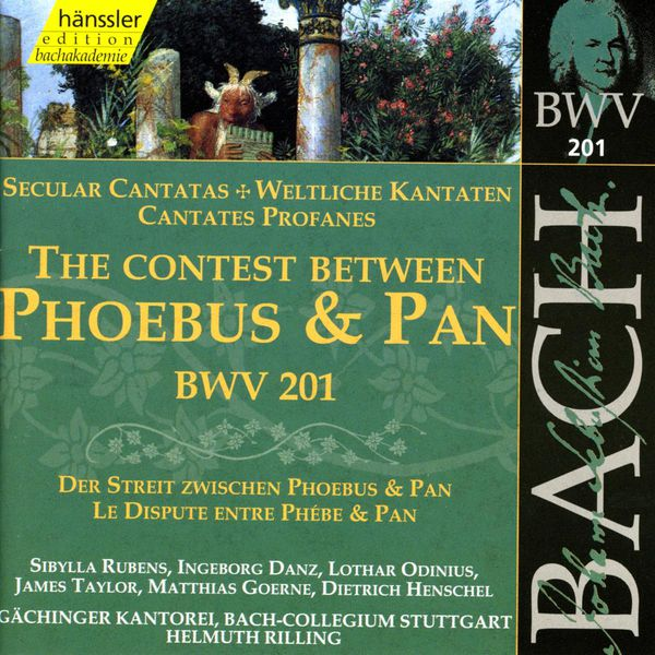 Helmuth Rilling - J.S. Bach : Phoebus and Pan (Secular Cantata)