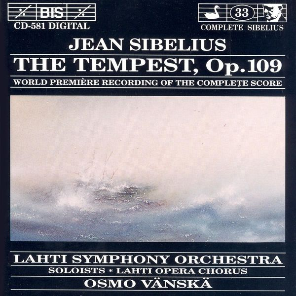 Kirsi Tiihonen - SIBELIUS: Tempest (The)