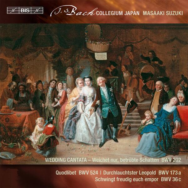 Masaaki Suzuki - Johann Sebastian Bach : Cantatas
