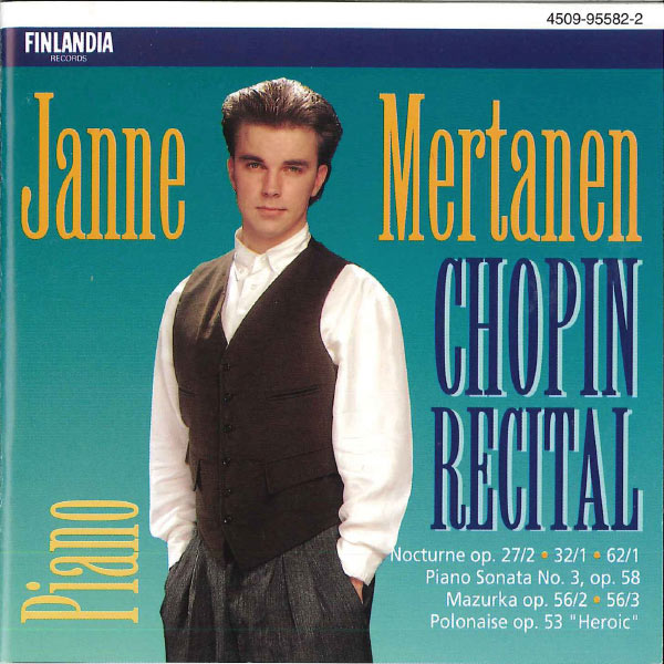 Janne Mertanen - Chopin Recital