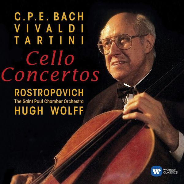 Mstislav Rostropovich - Baroque Cello Concertos
