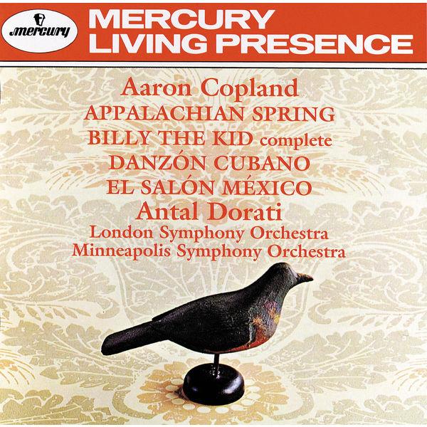 London Symphony Orchestra - Copland: Appalachian Spring; Billy the Kid; El Salon Mexico; Danzon Cubano