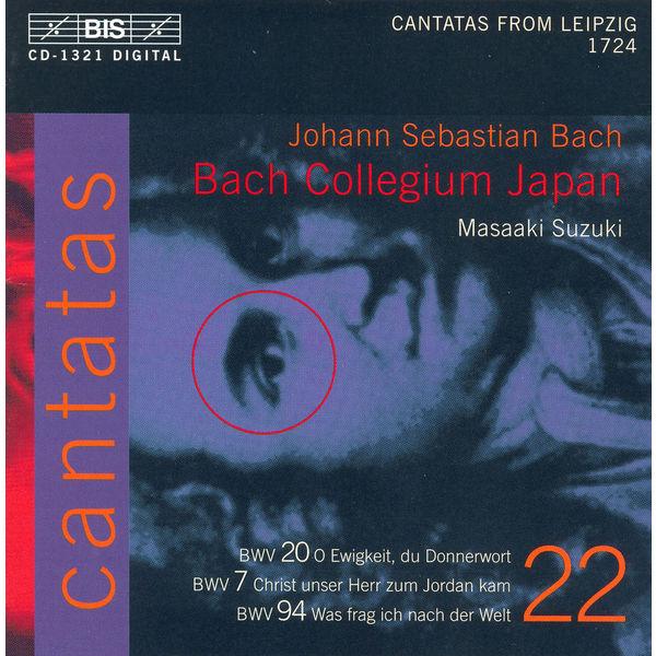 Robin Blaze - BACH, J.S.: Cantatas, Vol. 22 (Suzuki) - BWV 7, 20, 94