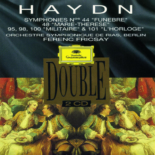 """Ferenc Fricsay - Haydn: Symphonies Nos. 44 """"Trauer""""; 48 """"Maria Theresia""""; No. 95, 98, 100 """"Militär"""" & 101 """"Die Uhr"""""""