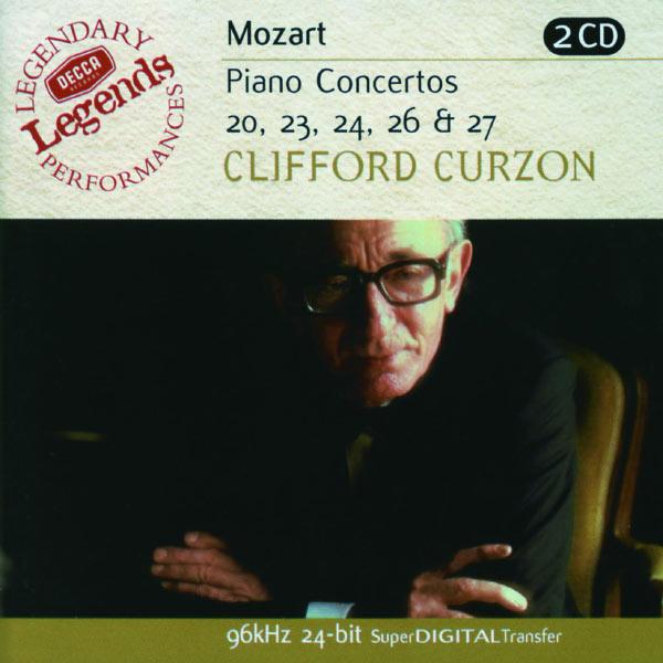 Clifford Curzon - Mozart: Piano Concertos Nos.20,23,24,26 & 27