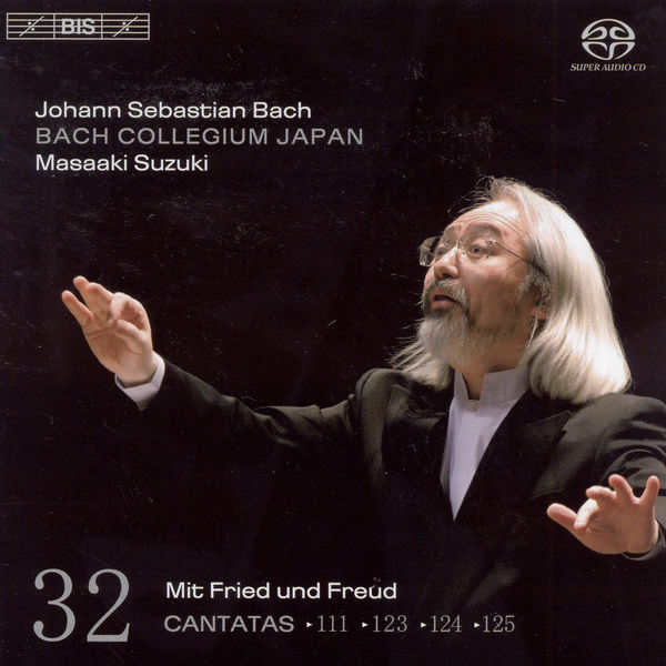 Robin Blaze - BACH, J.S.: Cantatas, Vol. 32 (Suzuki) - BWV 111, 123, 124, 125