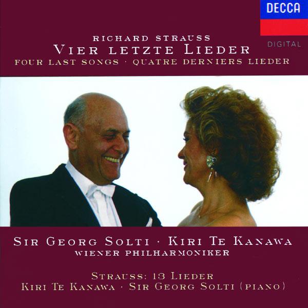 Kiri Te Kanawa - Strauss, R.: Vier letzte Lieder; Die Nacht; Allerseelen etc.