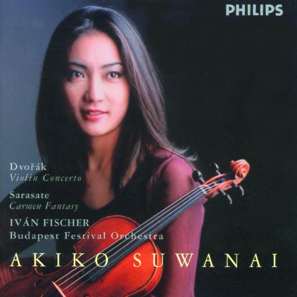 Akiko Suwanai - Dvorák: Violin Concerto / Sarasate: Carmen Fantasy