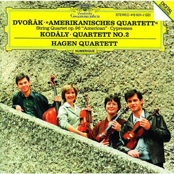 "Hagen Quartett - Dvorák: String Quartet No.12 ""American""; Cypresses / Kodály: String Quartet No.2"