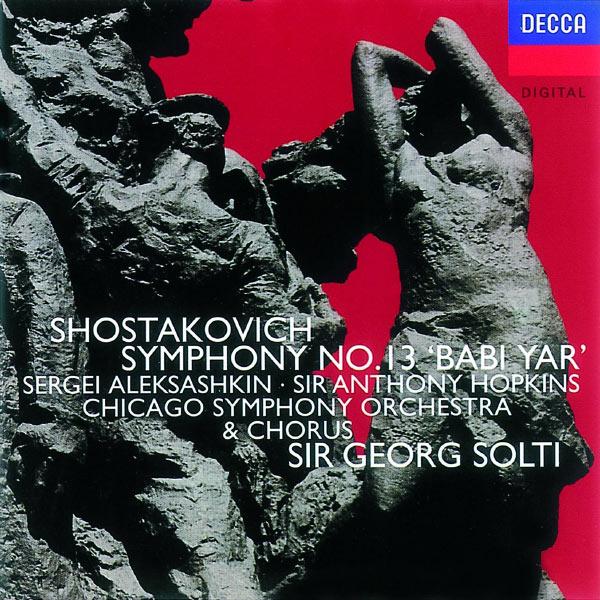 Antony Hopkins - Shostakovich: Symphony No.13/Yevtushenko: Poems