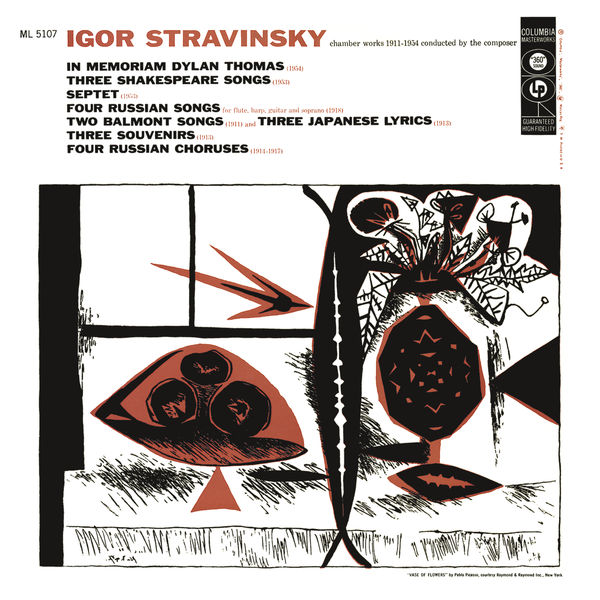Igor Stravinski - Stravinsky - Chamber Works 1911-1954 Conducted by the Composer