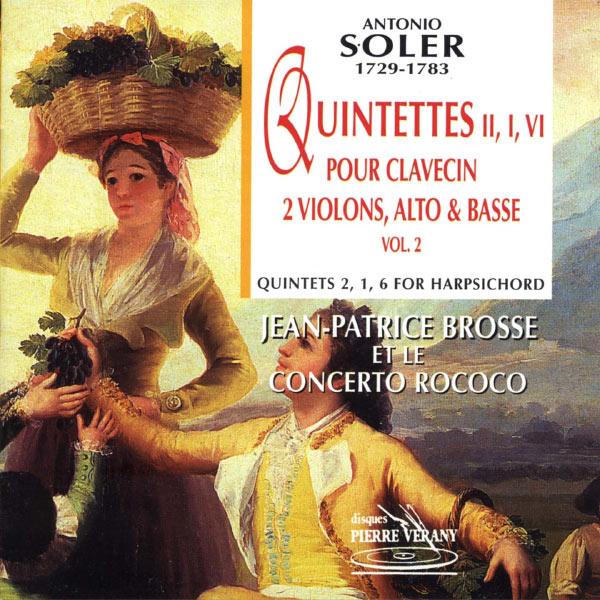 Le Concerto Rococo, Jean-Patrice Brosse, Patrick Cohen-Akenine, Hélène Houzel, Laurent Bruni, François Poli - Quintettes pour clavecin, volume 2