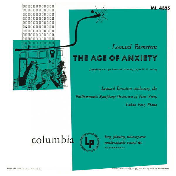 Leonard Bernstein - Bernstein: The Age of Anxiety & Serenade for Violin, Strings and Percussion ((Remastered))