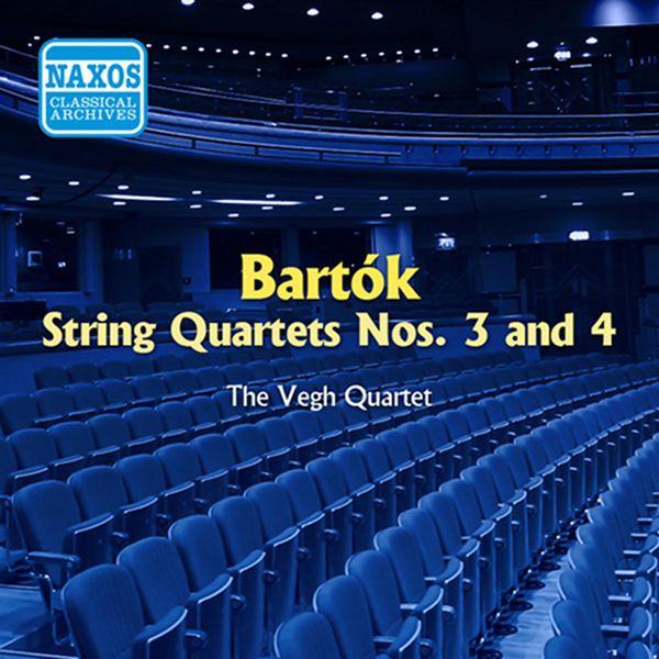 Végh Quartet - Bartok: String Quartets Nos. 3 and 4 (Vegh Quartet) (1954)