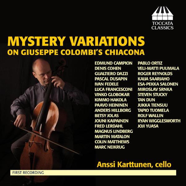 Anssi Karttunen - Mystery Variations on Giuseppe Colombi's Chiacona