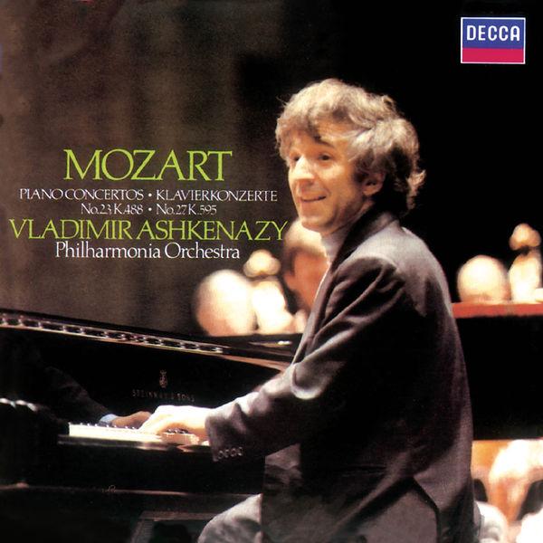 Vladimir Ashkenazy - Mozart: Piano Concertos Nos. 23 & 27