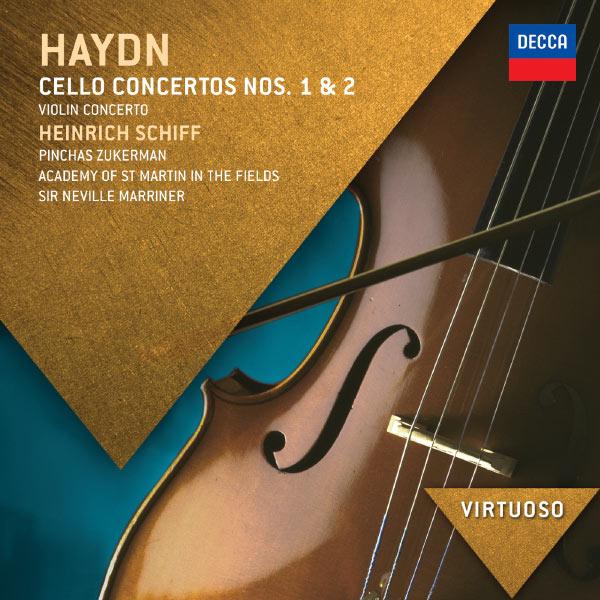 Heinrich Schiff - Haydn: Cello Concertos Nos.1 & 2; Violin Concerto
