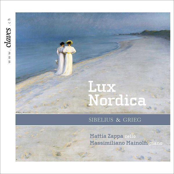 """Mattia Zappa - Sibelius & Grieg : Music for Cello and Piano """"Lux Nordica"""""""