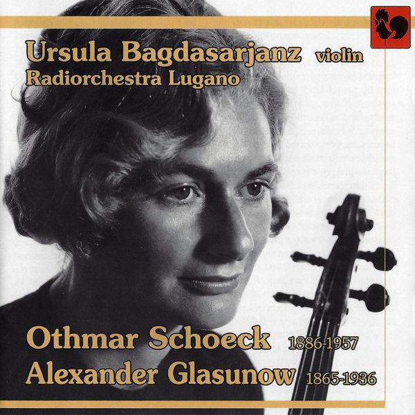 Othmar Schoeck - Schoeck: Violin Concerto, Op. 21 - Glasunov: Violin Concerto, Op. 82