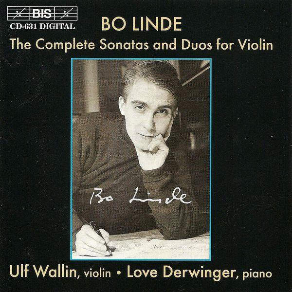 Ulf Wallin - LINDE: Complete Sonatas and Duos for Violin