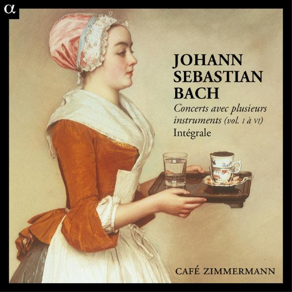 Café Zimmermann - Bach : Concerts avec plusieurs instruments (Intégrale)
