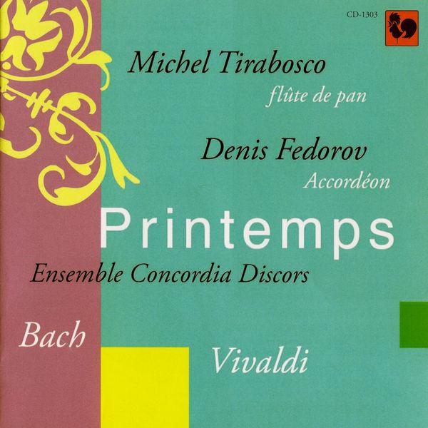 Michel Tirabosco - Bach & Vivaldi: Printemps (Accordion and Panpipes)