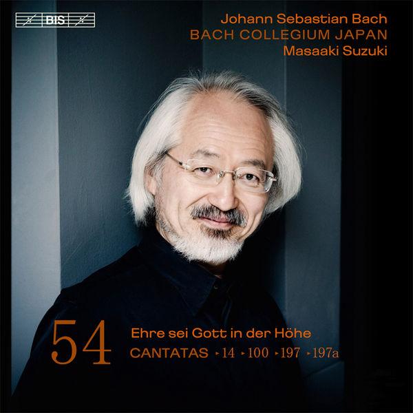 Masaaki Suzuki - Johann Sebastian Bach : Cantatas, Vol. 54 (BWV 14, 100, 197, 197a)