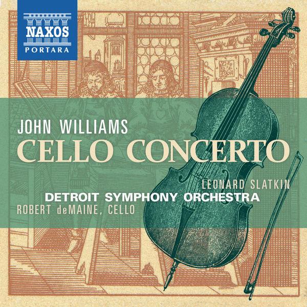 Robert deMaine - Williams: Cello Concerto
