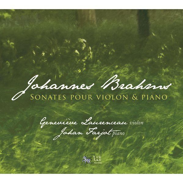 Johan Farjot - Brahms: Sonates pour violon et piano