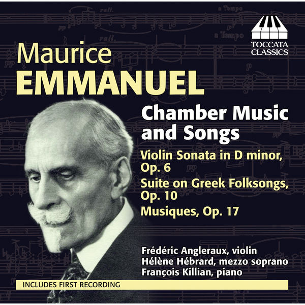 Frederic Angleraux - Emmanuel: Chamber Music and Songs