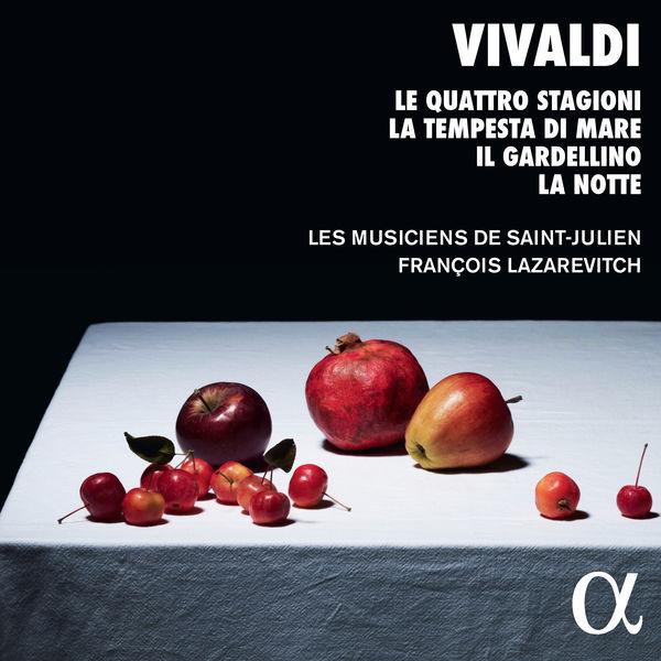 Les Musiciens de Saint-Julien - Vivaldi: Le quattro stagioni, La tempesta di mare, Il gardellino & La notte