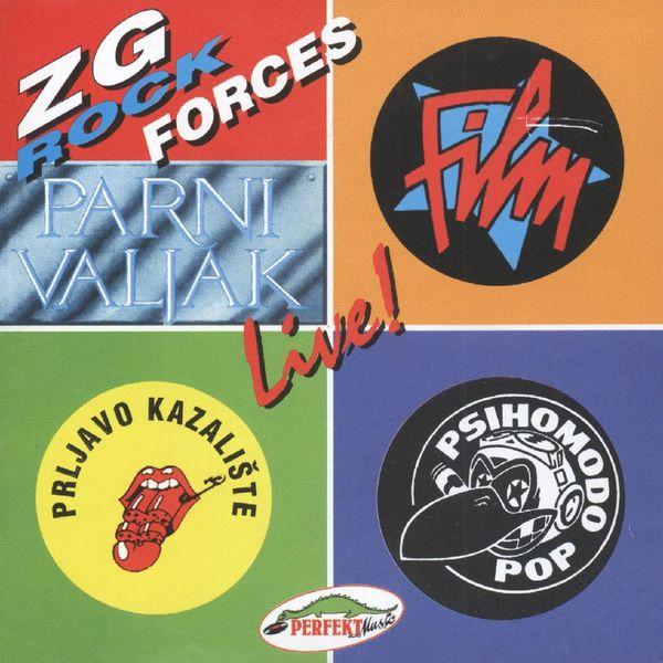 Razni izvođači - Zg Rock Forces, Live
