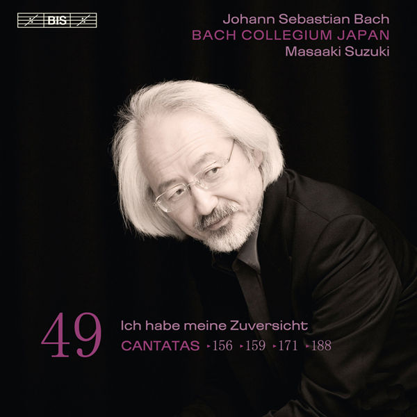 Masaaki Suzuki - Johann Sebastian Bach : Cantatas, Vol. 49 (BWV 156, 159, 171, 188)