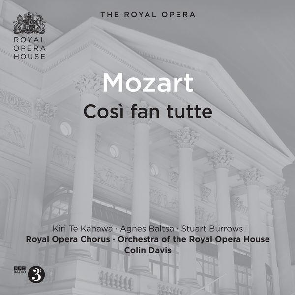 Royal Opera House Orchestra - Mozart: Così fan tutte, K. 588 (Live)