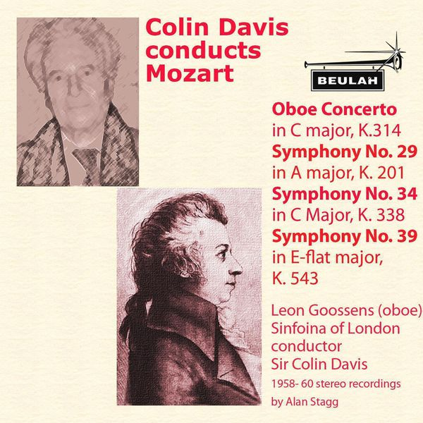 Sinfonia Of London - Colin Davis Conducts Mozart