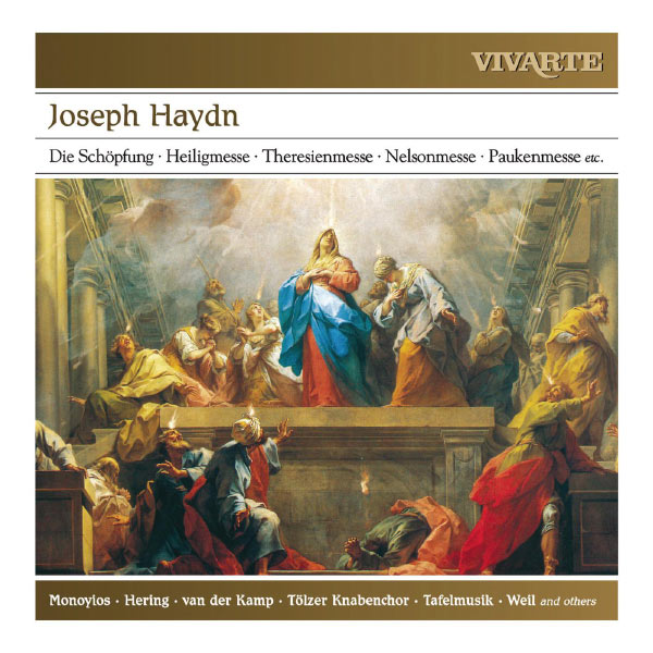 Various Artists - Haydn: Die Schöpfung; Heiligmesse; Theresienmesse; Nelsonmesse; Paukenmesse etc.
