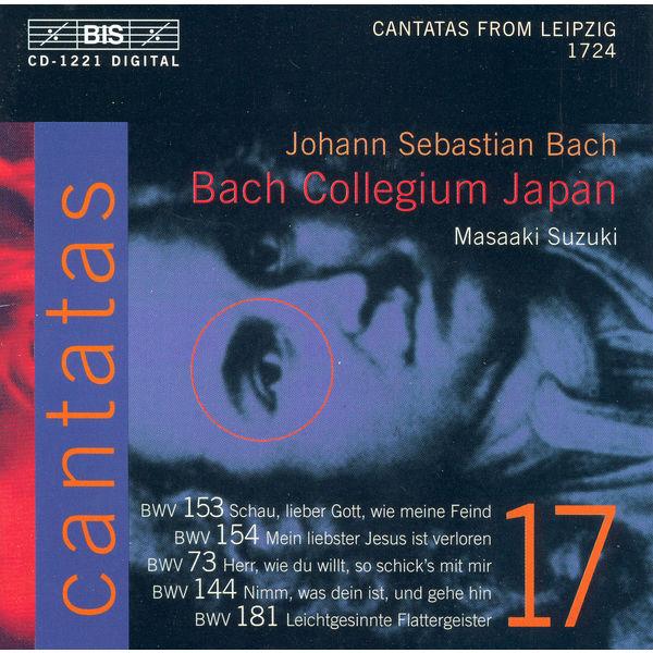 Robin Blaze - BACH, J.S.: Cantatas, Vol. 17 (Suzuki) - BWV 73, 144, 153, 154, 181