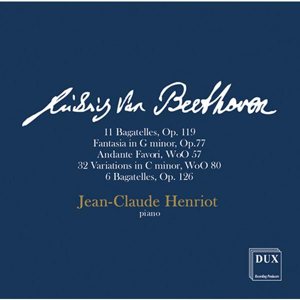 Jean-Claude Henriot - Beethoven : Piano Works