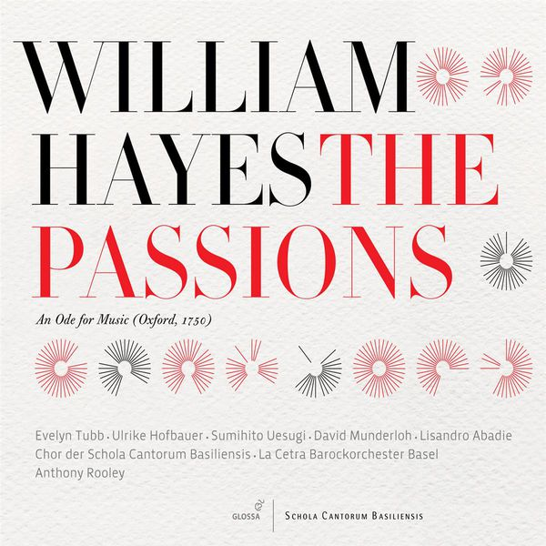 Anthony Rooley - William Hayes : The Passions