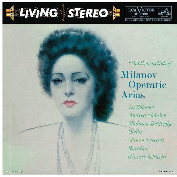 Zinka Milanov - Milanov Operatic Arias