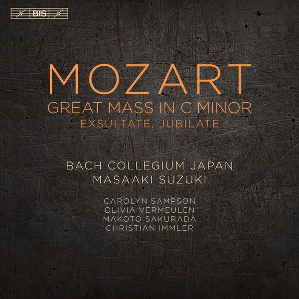 Masaaki Suzuki - Mozart : Great Mass in C Minor & Exsultate, Jubilate