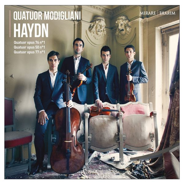 Quatuor Modigliani - Quatuor Modigliani: Haydn, Quatuors op.50/1, op.76/1 & op.77/1