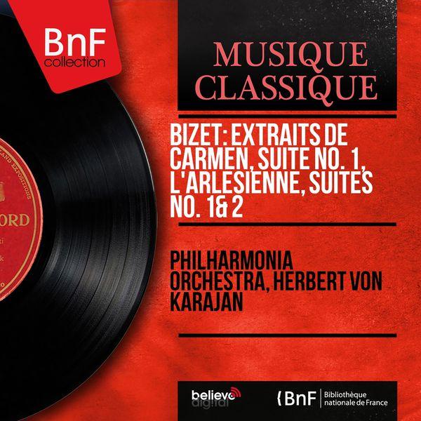 Philharmonia Orchestra - Bizet: Extraits de Carmen, suite No. 1, L'arlésienne, suites No. 1 & 2 (Remastered, Stereo Version)