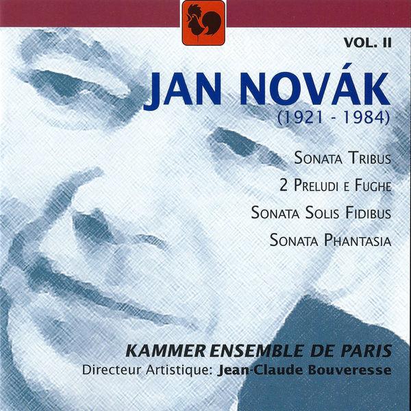 Jan Novak - Jan Novák: Sonatas – Preludes, Vol. 2