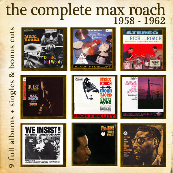 Max Roach - The Complete Max Roach 1958 - 1962