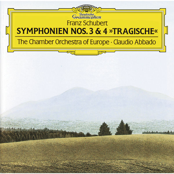 """The Chamber Orchestra of Europe - Schubert : Symphonies Nos. 3 & 4 """"Tragic"""""""